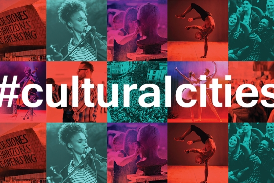 Core Cities UK helps launch ground-breaking report into the future of culture in cities
